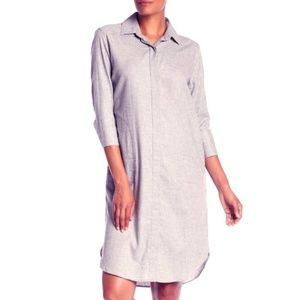 NWOT JARBO LUXE COTTON SHIRT DRESS TUNIC BLOUSE